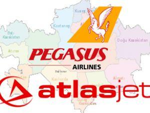 AtlasJet ve Pegasus'un uçuş savaşı