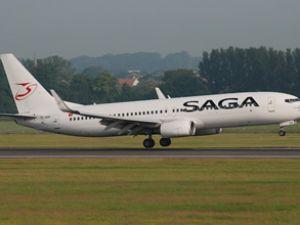 SAGA Havayolları'nın süresi artık doldu