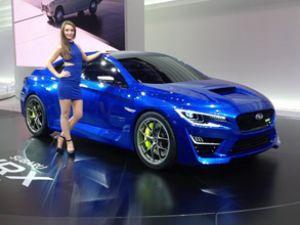 Subaru WRX ve VIZIV rüzgar estiriyor
