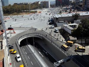 Taksim'de yeni dönem bugün başladı