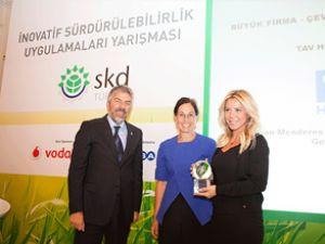 TAV'a 'Sürdürülebilir Başarı' ödülü