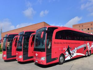 Mercedes-Benz, TFF otobüslerini yeniledi