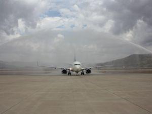 Anadolu Jet ilk Bingöl seferini tamamladı