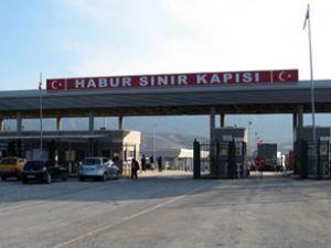 Habur Sınır Kapısı 24 saatlik kapatıldı