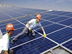 Ayfon'a güneş enerji santrali yapıldı