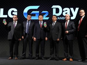 LG'nin amiral gemisi telefonu G2 ülkemizde