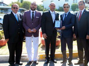 Kazakistanlı heyet GİSBİR'i ziyaret etti
