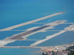 Denize havalimanı için 16 milyon ton taş