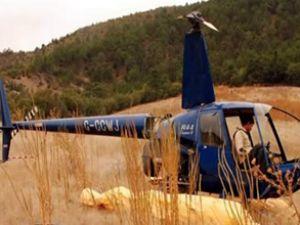 Ankara'da terkedilen helikopter şaşırtıyor