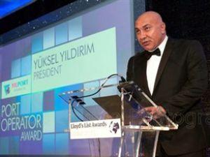 """Yıldırım Holding'e """"Büyük Takdir"""" Ödülü"""