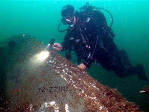 Sapanca Gölü'nde uçak enkazı bulundu