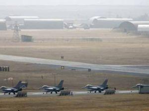 F-16'lar tezkerenin ardından havalandı