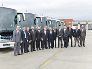 Ulusoy, son model Setra'larını teslim aldı