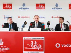Vodafone İstanbul Maratonu rekor kıracak