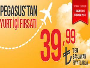 Pegasus Havayolları'ndan Kasım fırsatı