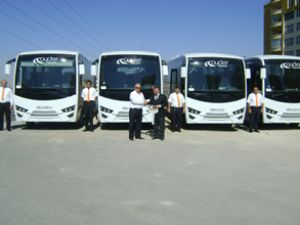 Anadolu Isuzu'dan Ayder Turizm'e teslimat
