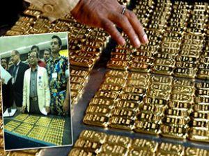 Uçak tuvalerinde milyonluk altın bulundu
