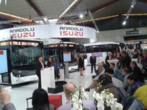 Anadolu Isuzu'dan Busword'de lansman