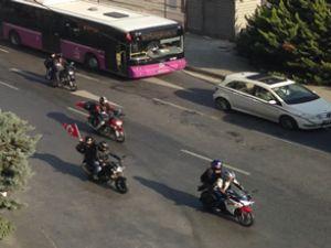 Motorsikletlilerden 7. Cumhuriyet Korteji