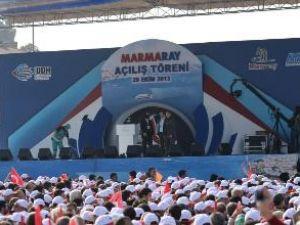 İstanbul'un bayram hediyesi Marmaray