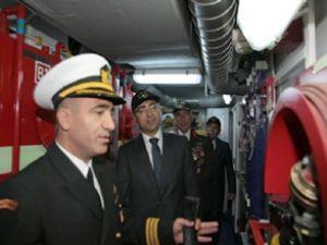TCSG Umut, İzmir Limanı'na demir attı