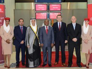Emirates Havayolları, Gine'ye uçacak