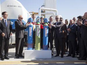 Bakan Çağlayan, Air Liquide tesisini açtı