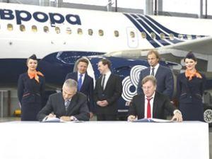 """Rusya'nın yeni havayolu şirketi """"Aurora"""""""