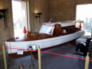 Atatürk'ün teknesi ODTÜ'de sergileniyor