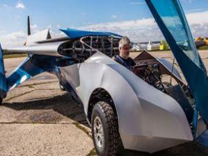 Uçan arabanın seri üretimine başlanacak