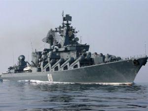 Rus savaş gemisi Varyag Mısır'a demirledi
