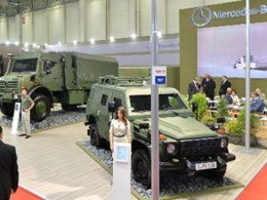 Mercedes savunma sanayi fuarının gözdesi