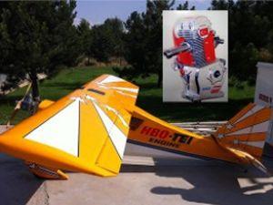 Yerli HBO motor, model uçakta test edildi