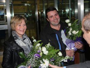 ICF'de 11 milyonuncu yolcu sevinci