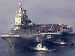 Çin'in ilk uçak gemisi Liaoning, sefere çıktı