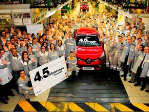 4.5 milyonuncu oto Japonya'ya üretildi