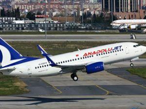 Trakya, AnadoluJet ile uçuşa geçiyor