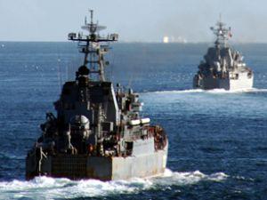Rus donanması Akdeniz'e konuşlandı