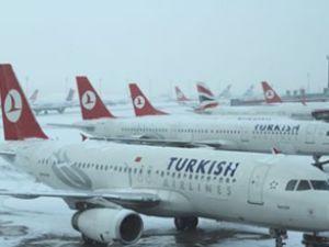 Türk Hava Yolları seferleri iptal edildi