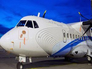 Fransa uçağı, Türkmenistan'da ilgi gördü