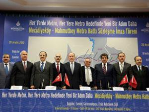 İstanbul'a yeni metro projesi müjdesi