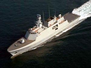 Rumlar açık deniz devriye gemisi alıyor