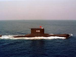 Türk denizaltısı kuruyük gemisiyle çatıştı