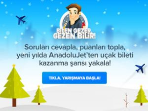 AnadoluJet'ten kazandıran kampanya