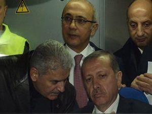 Erdoğan, YHT test sürüşüne katıldı
