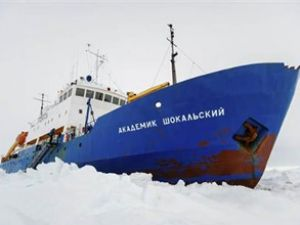 Rus gemisi Tazmanya'da mahsur kaldı