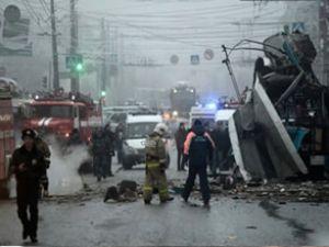 Rusya'da troleybüste patlama: 10 ölü