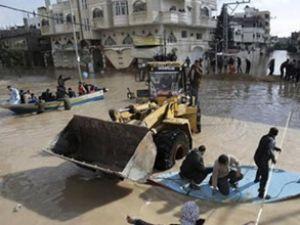 Gazze'nin suyunu TİKA tahliye edecek