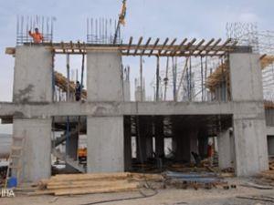 Adıyaman'da otogar inşaatı hızla sürüyor