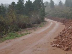 Derince'ye 19 km'lik köy yolu